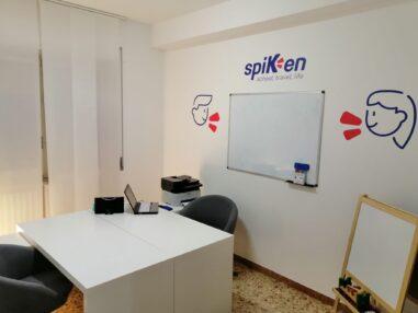 Spiken _ interni scuola _ aula corsi individuali