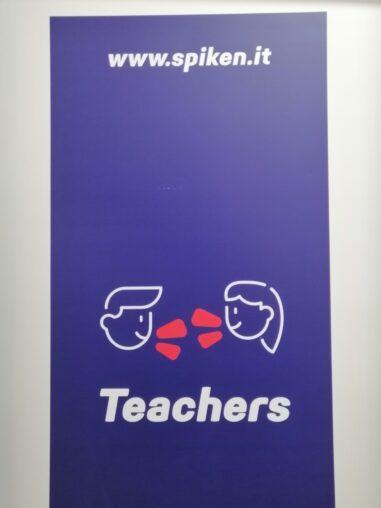 Spiken _ interno scuola _ porta aula insegnanti